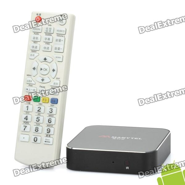MANYTEL X16T Android 2.3 HD 1080P Network Media Player w/ Wi-Fi / HDMI