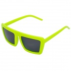 Fashion Outdoor Sports Cycling UV400 Protection Frame Sunglasses - Bright Yellow