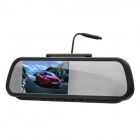 "5.0"" WinCE6.0 Touch Rear View Mirror GPS Navigator Bluetooth/AV IN + 4GB TF Brazil Maps Card"