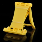 E-table Multifunction Folding Holder Stand for Cell Phone / Tablet PC + More - Yellow