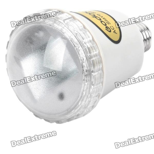 E27 29GN Photo Studio White Light Slave Flash Bulb - Greyish WhiteLighting and Studio Accessories<br>Form  ColorWhiteColor Temperature:Number of Emitters1,2,3,4,5,6,7,8,9Packing List<br>