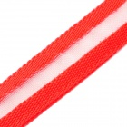 3-Mode Red LED Pet Leash - Red (2 x CR2032 / 120cm)