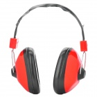 Noise Reduction Protection Ear Muff - Red