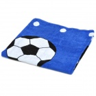 Cute Soccer Mickey Mouse Pattern Bath Beach Towel - Blue