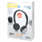 Rapoo 2.4GHz Wireless Headset Headphone with Microphone - Silver + Black