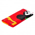 Cute Mickey und Minnie Mouse Pattern Bath Beach Towel - Rot
