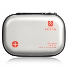 Protective PU Hard Case for Fist Aid Kit - Silver