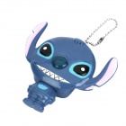Mini-Cartoon-Style-Stitch-All-in-1 USB Card Reader - Blue