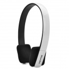 Stylish Stereo Bluetooth V3.0+EDR Class 2 Headset Headphone - White + Black