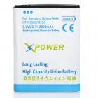 Replacement 3.7V 2800mAh Li-ion Battery for Samsung Galaxy Note i9220/GT-N7000 - White + Blue