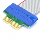 PCI-E 1X 36-Bit Flexible Extender Adapter Cable (19cm)