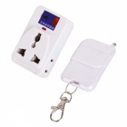KK-122 Remote Control Socket - White (AC 100~250V)