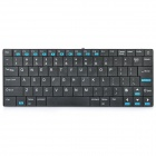 Ultra-thin Bluetooth V3.0 Wireless 84-Key Keyboard - Black