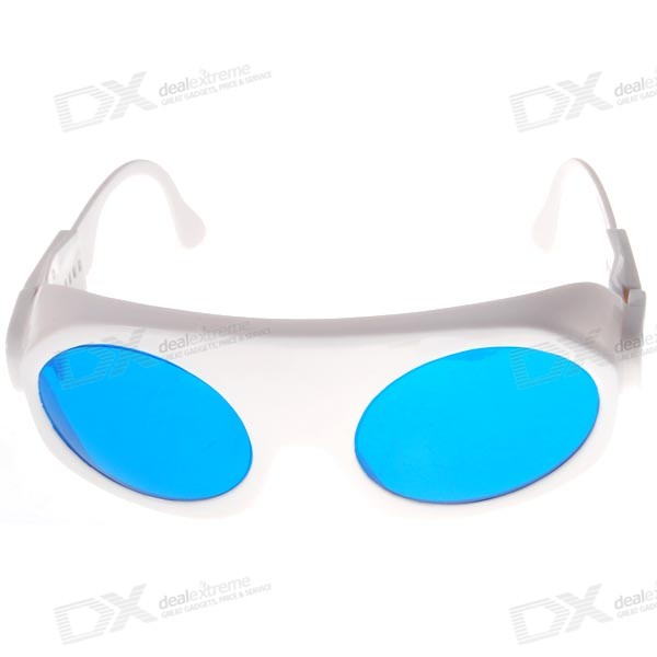 Red Lasers Protective Safety Goggles (Blocks 150~340nm;610~700nm)