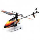 V911 4-Channel 2.4GHz Mini Gyro Single Propeller RC Helicopter - Orange