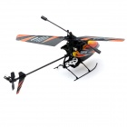 V911 4-Channel 2.4GHz Gyro Single Propeller RC Helicopter - Orange