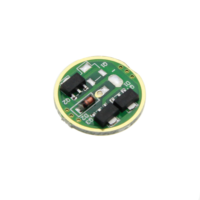 17mm 1050mA Single Mode Regulated LED Driver Circuit Board for Flashlight DIY (DC 3~4.5V) от DX.com INT