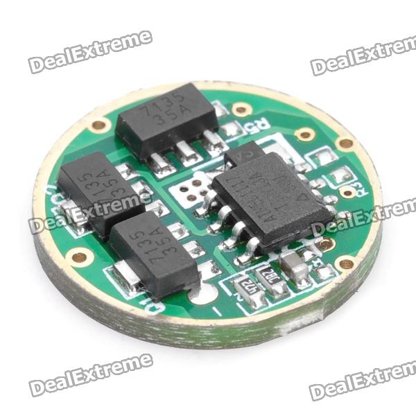 1050mA Regulated Current 5-Mode Memory LED Driver Circuit Board for Flashlight DIY (3~4.5V)