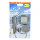 "1.6"" LCD Electronic Bicycle Computer / Speedometer (1 x CR2032)"
