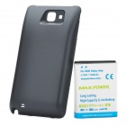 3.7V 5200mAh Extended Battery with Back Cover Case for Samsung Galaxy Note i9220 - Black