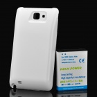 3.7V 5200mAh Extended Battery with Back Cover Case for Samsung Galaxy Note i9220 - White