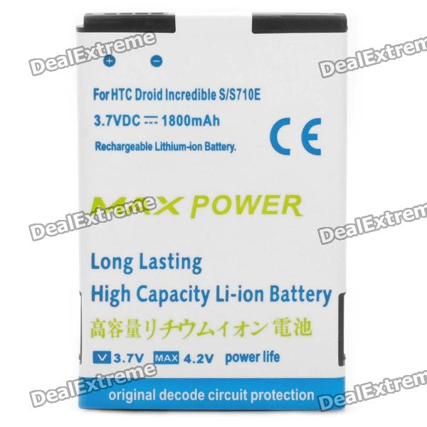 Replacement 3.7V 1800mAh Battery for HTC Desire S / Incredible S htc desire s тачскрин