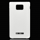Designer's Replacement Plastic Back Cover for Samsung i9100 Galaxy S2 - White