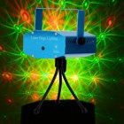50mW Green + 100mW Red Laser Stage Lighting Projector with Tripod