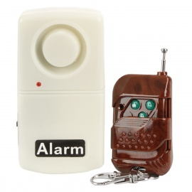 Vibration Activated Wireless Anti-Theft Security Alarm w/ Remote Controller (120dB Loud)