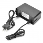 Water Resistant Power Supply Adapter for CCTV Security Camera - Black (AC 100~240)