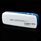 HAME MPR-A1 WiFi 802.11b/g/n Wireless 3G Router - White + Blue