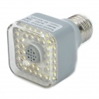 Sound aktiviert E27 5W 5500K 300-Lumen LED-39-White Light Bulb (AC 220-240V)