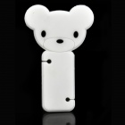 Mini Bear Style Cord Cable Winder Organizer - White
