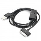 USB Data / Charging Cable for Apple New iPad - Black (100cm)