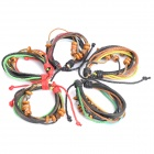 Stylish Bohemian Style Cow Leather Bracelets (5-Pack / Random Color)