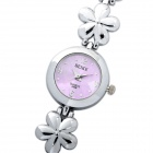 Fashion Lady's Quartz Wrist Watch with Plum Blossom Style Chain (1 x 377)