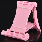 Engineering Plastic Holder Stand for Cell Phone / Tablet PC + More - Pink