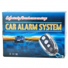 YSD-3 One Way Car Security Alarm System Horn with Remote Controller - Black (DC 12V)