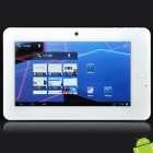 "Dropad A8H 7"" Capacitive Android 4.0 Tablet w/ WiFi / External 3G / Camera / TF - White (1GHz / 4GB)"
