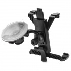 Car Swivel Suction Cup Mount Holder for Motorola / ASUS Tablet - Black