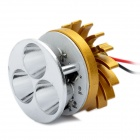 12W 3000K 1300LM 3-LED Yellow Light Car Lamp (DC 12V)