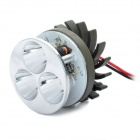 12W 6000K 1300LM 3-LED White Light Car Lamp (DC 12V)