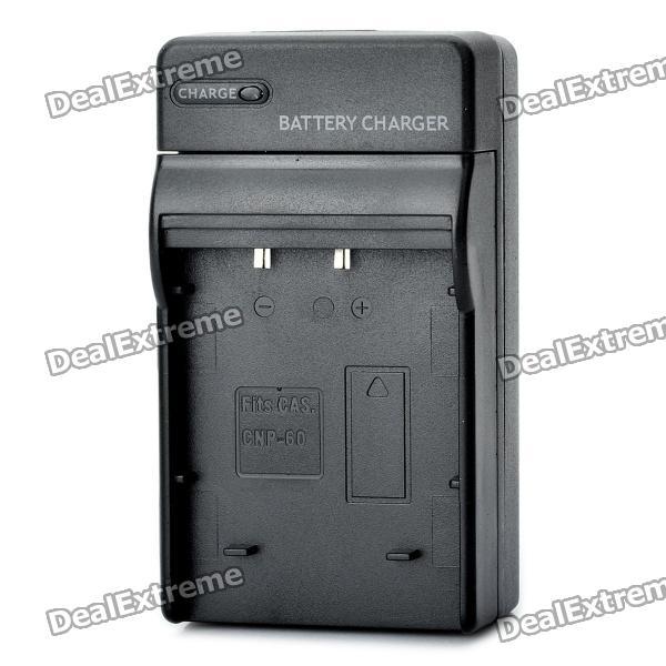 Digital Camera Battery Charger for CASIO NP-60 (100~240V) сервер dell poweredge r330 210 afev 39