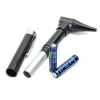 Pen style Earcare Professional Otoscope Diagnostic set - Black