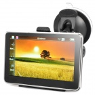 "4.3"" Resistive Touch Screen WinCE 6.0 GPS Navigator w/ FM / 4GB USA Map TF Card - Black (4GB)"