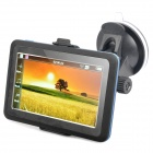 "4.3"" Resistive Touch Screen WinCE 6.0 GPS Navigator w/ FM / 4GB Canada Map TF Card - Black (4GB)"