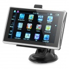 "5"" Resistive Touch Screen WinCE 6.0 GPS Navigator w/ FM / 4GB USA Map TF Card - Black (4GB)"