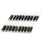 6.3V 1800uf Aluminum Motherboard Capacitors - Black (20-Piece Pack)