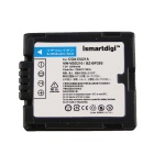ISMART Replacement DU21 7.2V 2500mAh Battery for Panasonic NV-GS408GK + More