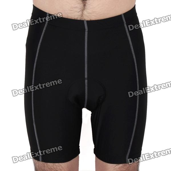 2012 Bike Bicycle Cycling Riding Shorts - Black (Size-M)